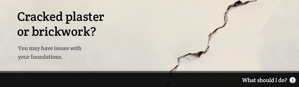 Cracked Plastering & Brickwork